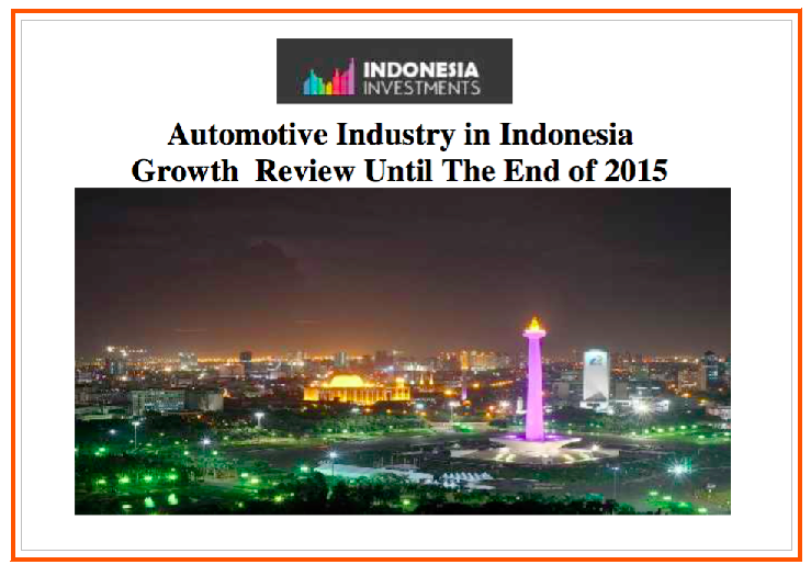 Automotive in Indonesia